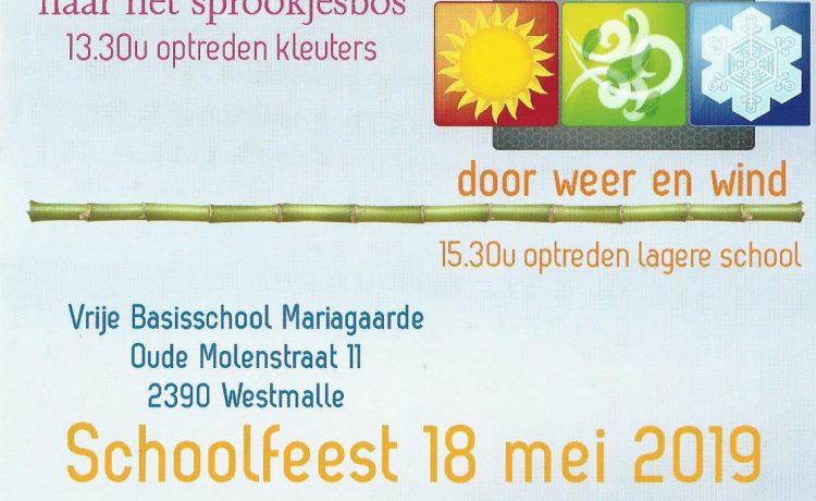 Schoolfeest 18 mei
