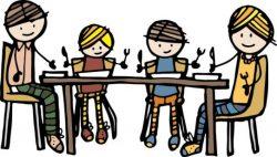 Thema: Samen gezellig eten